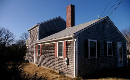 Eastham Cape Cod vacation rental - End of a sandy lane