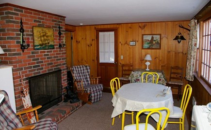 Eastham Cape Cod vacation rental - Living/dining area