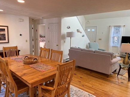 North Eastham Cape Cod vacation rental - View to the living room and bedroom to the left.