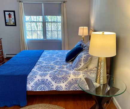 Eastham Cape Cod vacation rental - Spacious king size bedroom, with rocking chair, A/C