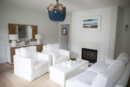 Chatham Cape Cod vacation rental - Cozy Living Room With Fireplace