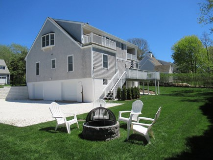 Chatham Cape Cod vacation rental - Enjoy Oyster Pond Views from Two Levels or Just Sit by the Fire