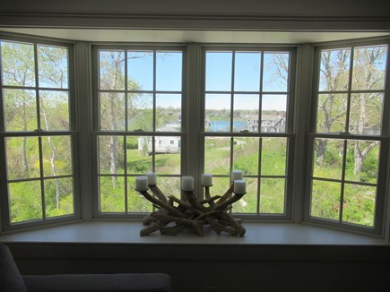 Chatham Cape Cod vacation rental - Enjoy The View Of Oyster Pond From Upstairs Family Room