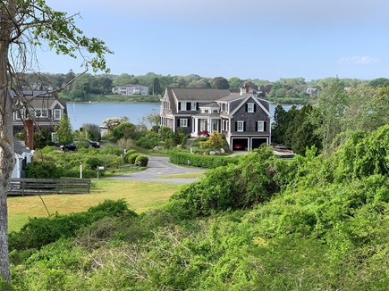 Chatham Cape Cod vacation rental - View From Upper Level Deck.  Deeded water access between houses.