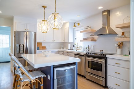 Chatham Cape Cod vacation rental - Modern Kitchen with Stainless Steel Appliances