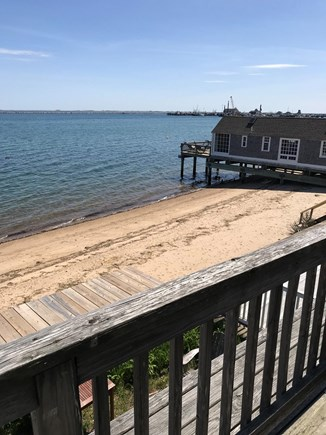 Provincetown Cape Cod vacation rental - View from deck. A beautiful way to start your vacation.