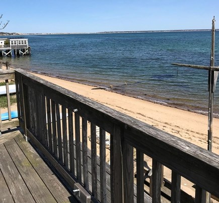 Provincetown Cape Cod vacation rental - Step onto the beach from your private deck