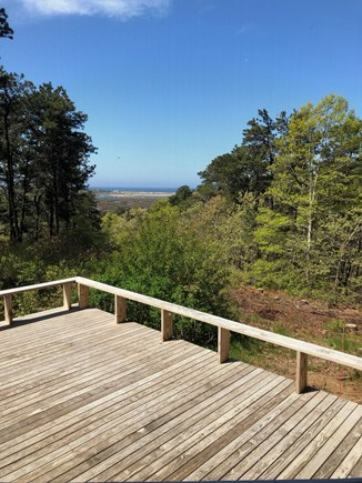 Truro Cape Cod vacation rental - Deck