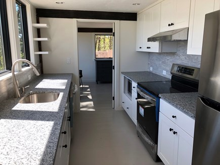Truro Cape Cod vacation rental - New Kitchen with new appliances