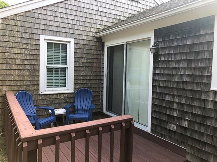 Eastham Cape Cod vacation rental - Deck two outside master bedroom