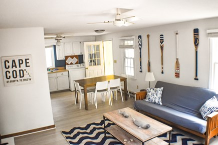 Eastham Cape Cod vacation rental - Living room with 43-inch flat-screen TV. with Netflix, Prime TV