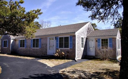 Eastham Cape Cod vacation rental - Front of the house from the circular driveway
