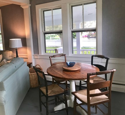Harwich Cape Cod vacation rental - Game Table in the Living Room