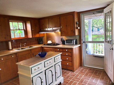 Harwich Cape Cod vacation rental - Kitchen with Access to the Porch
