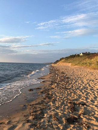 Eastham, near town green, wind Cape Cod vacation rental - Closest & most beautiful bay beach: First Encounter (1.5 miles)