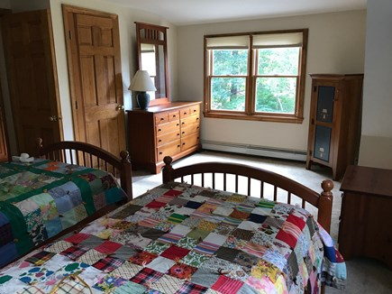 Eastham, near town green, wind Cape Cod vacation rental - Large 2nd floor Twin bedroom with A/C