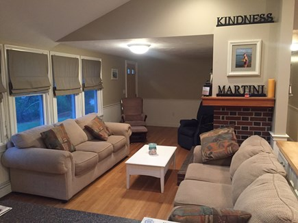 Plymouth, Manomet MA vacation rental - Open concept layout with plenty of seating.