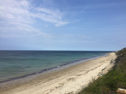 Plymouth, Manomet MA vacation rental - 2 minute walk to private sandy Manomet Beach on Cape Cod Bay.