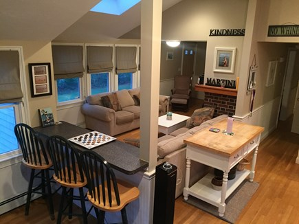 Plymouth, Manomet MA vacation rental - Bar style counter-top seating.