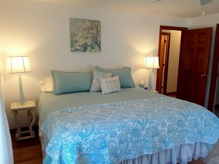 West Yarmouth Cape Cod vacation rental - BEAUTIFUL Master Bedroom with KING size bed
