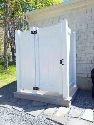 West Yarmouth Cape Cod vacation rental - Brand-new Outdoor Shower