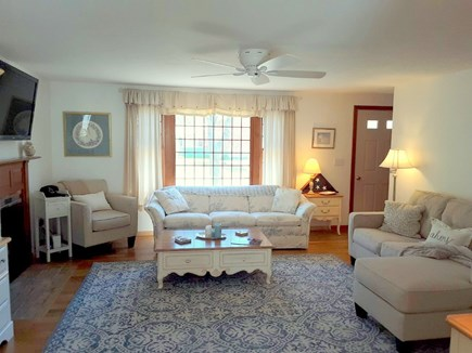 West Yarmouth Cape Cod vacation rental - Sunny and Bright Living Room