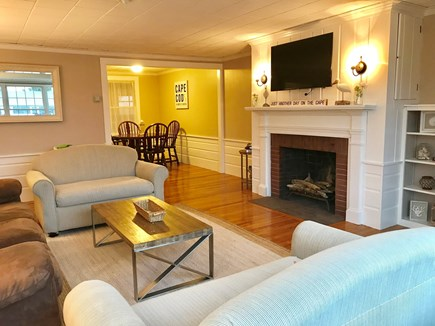 Falmouth Cape Cod vacation rental - Land Side Living Room