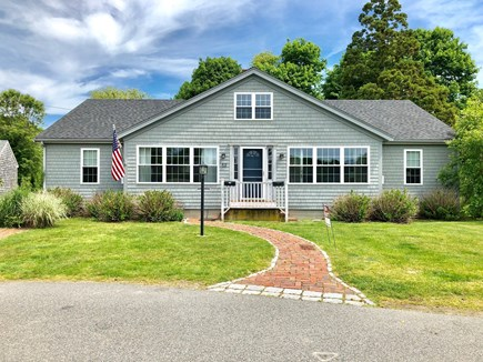 Falmouth Cape Cod vacation rental - Front of the house