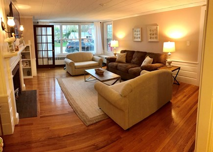 Falmouth Cape Cod vacation rental - Land Side Living Room 2
