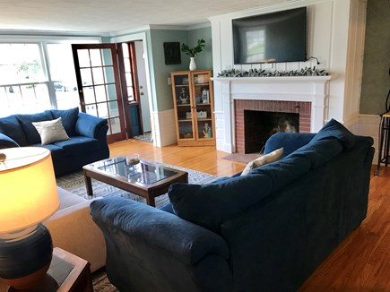 Falmouth Cape Cod vacation rental - Sea Side Living Room