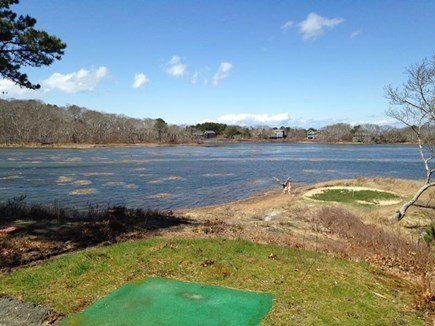 Wellfleet Cape Cod vacation rental - High tide view