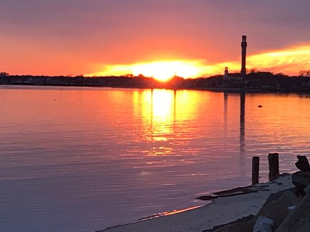 Provincetown Cape Cod vacation rental - Watch the beautiful sunsets from the porch or beach across street