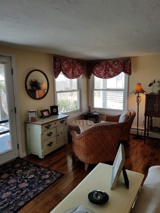 Provincetown Cape Cod vacation rental - Seating area in living room