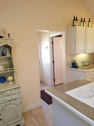 Provincetown Cape Cod vacation rental - Entry way with full bathroom and laundry
