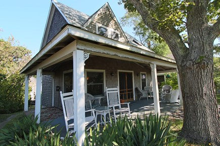Provincetown Cape Cod vacation rental - Front Porch