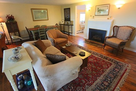 Provincetown Cape Cod vacation rental - Living room with ample seating