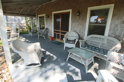 Provincetown Cape Cod vacation rental - Great Covered Porch with Water views