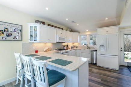 West Dennis Cape Cod vacation rental - Breakfast bar is the perfect place to start each day