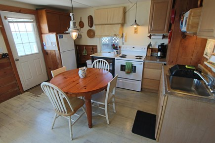 North Truro Cape Cod vacation rental - Kitchen and dining area