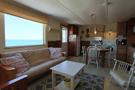 North Truro Cape Cod vacation rental - Views of Cape Cod Bay from living room