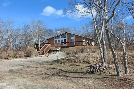Truro Cape Cod vacation rental - Outside of the property. Spacious Land.