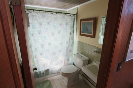 Truro Cape Cod vacation rental - Full Bathroom with Tub & Shower