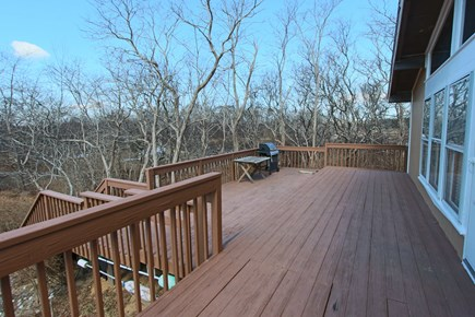 Truro Cape Cod vacation rental - Large Deck (Furniture will be added this summer, new photos soon)