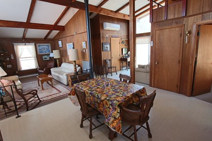 Truro Cape Cod vacation rental - Dining/Living room area