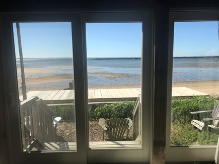 Provincetown Cape Cod vacation rental - View from the living room.