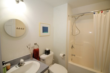 Wellfleet Cape Cod vacation rental - Second floor bathroom with shower/tub