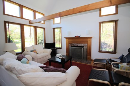 Wellfleet Cape Cod vacation rental - Living room is open and airy with plenty of windows