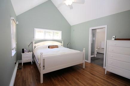 Wellfleet Cape Cod vacation rental - First floor master bedroom with king and en suite bathroom