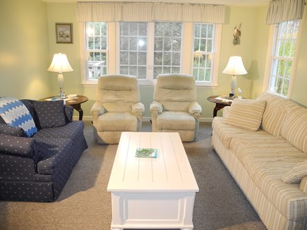 Eastham Cape Cod vacation rental - Bright, comfortable living room.