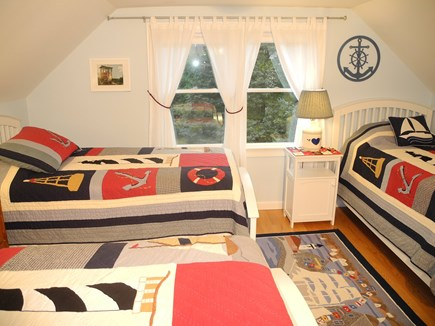 Eastham Cape Cod vacation rental - Upstairs twin beds with AC.